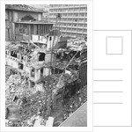 Demolition of the Famed Imperial Hotel Designed by Frank LLoyd Wright by Corbis