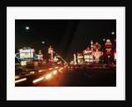 Night Views of Las Vegas Strip by Corbis