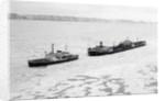 Icebreaker Manhattan Following the Coast Guard Icebreaker by Corbis