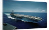 Aircraft Carrier USS Constellation at Sea by Corbis
