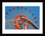 Ferris Wheel and Roller Coaster at Expo 1970 by Corbis