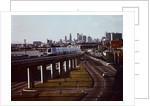 BART Train in Oakland by Corbis