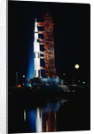 Nighttime View of the Apollo 17 Spacecraft by Corbis