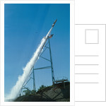 Evel Knievel's Rocket Launching by Corbis