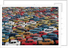 Rows of Japanese Cars Waiting to Be Exported by Corbis