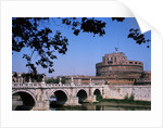 Bridge of Angels and Castel Sant' Angelo by Corbis