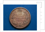 Canadian Dollar Coin of 1911 by Corbis