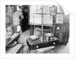 Set of Old Scales by Corbis