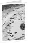 Stranded Travelers in the Snow by Corbis