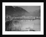 Beautiful View of Olympic Hockey Rink at Chamonix by Corbis
