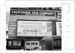 California Gubernatorial Campaign Billboard by Corbis
