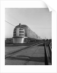 Front View of Passenger Train by Corbis