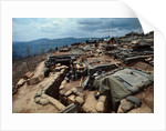 Fire Support Base Delta One in Laos by Corbis
