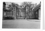 Gate Entrance to Harvard University by Corbis