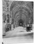 Decorative Arches and Ceiling View Inside Vatican Library by Corbis