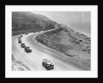 Automobiles Driving Along a Highway by Corbis