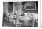 Franz Joseph Holding Military Conference by Corbis