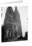 German Tank In Front of Cathedral by Corbis