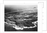 Aerial View of Iwo Jima by Corbis