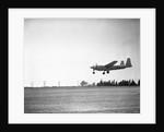 Howard Hughes in XF-11's Doomed Maiden Flight by Corbis