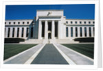Front of Federal Reserve Building by Corbis