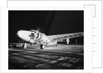 Howard Hughes Lockheed 14 Super Electra on Runway by Corbis