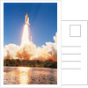 Challenger Space Shuttle Lifting Off by Corbis