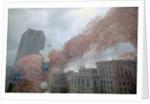Balloons Surrounding Terminal Building by Corbis