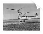 An Early Model of the Modern Helicopter by Corbis