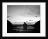 Couple Gazing at Horizon on Acapulco Beach by Corbis