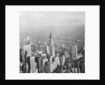 Aerial View of Chrysler Building in New York City by Corbis