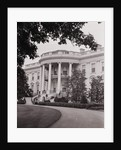 Exterior View of the White House by Corbis