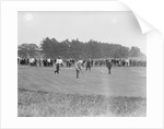 Crowd Watching Golf Tournament by Corbis