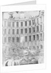 White Palace Destroyed from Bolshevik Revolution by Corbis