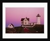 Cape Neddick Lighthouse by Corbis