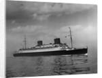 German Passenger Ship by Corbis