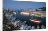 Fishing Boats in Harbor by Corbis