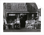 Exterior of Hardware Store by Corbis