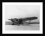 Byrd's Plane Parked on Runway by Corbis