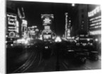 Cars Driving in Times Square by Corbis