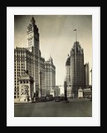 View of Street and Buildings in Chicago by Corbis