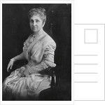Portrait of Phoebe Apperson Hearst by Corbis