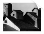 Corrugated Steel Rooftops by Corbis