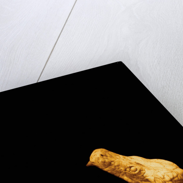 Yellow stone snake by Ricardo Demurez