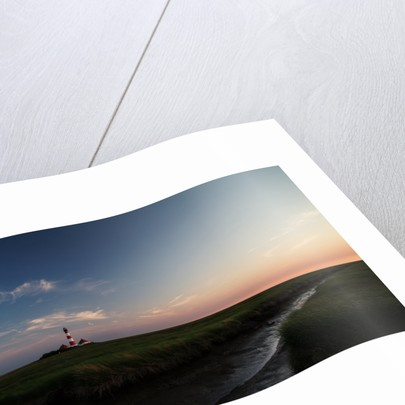 Lighthouse Westerheversand by Christine Ellger