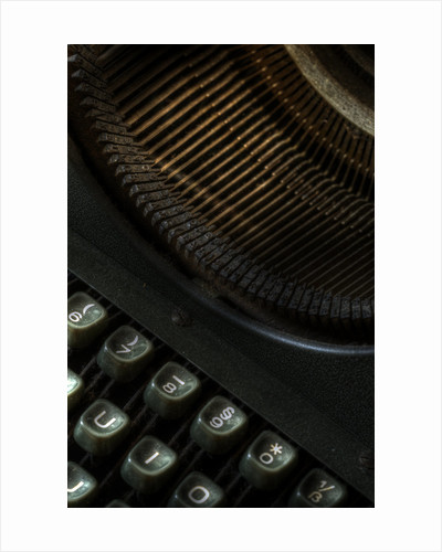 Old typewriter by Ricardo Demurez