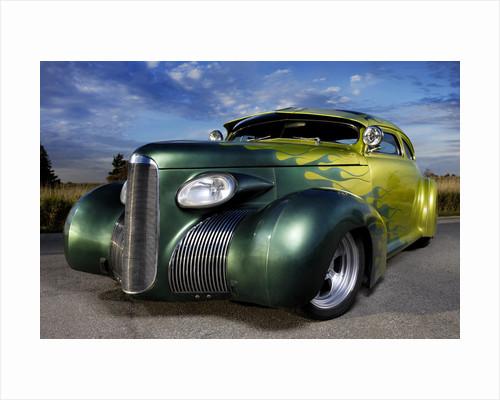 Rock'n roll car no.1 by Alex Maxim