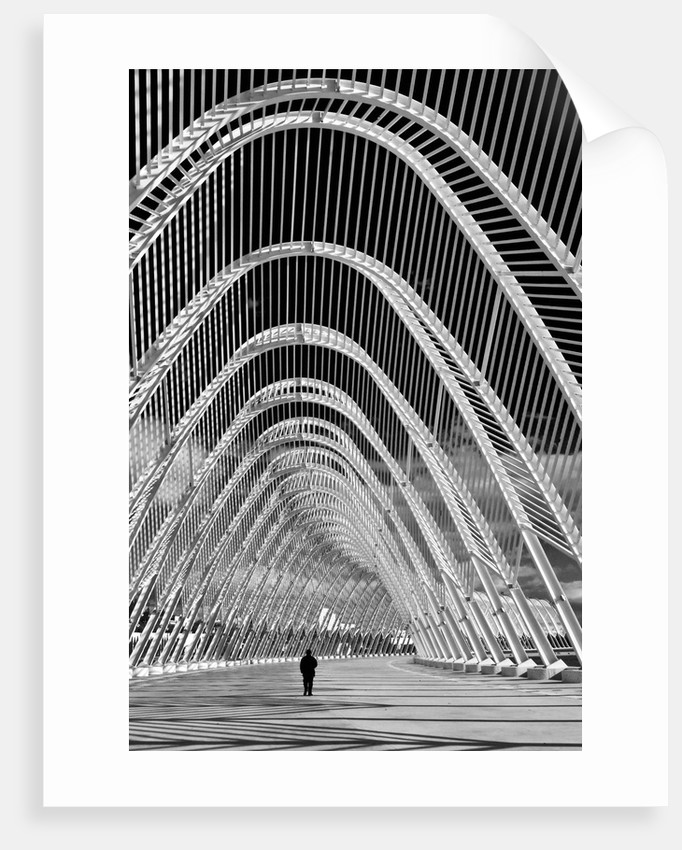 Alone Inside the Structure by Eugenia Kyriakopoulou