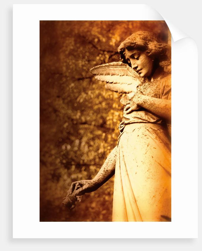 Old sculpture of an angel by Ricardo Demurez