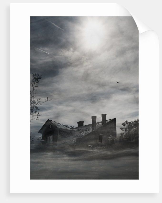 deserted house by Alexandra Stanek